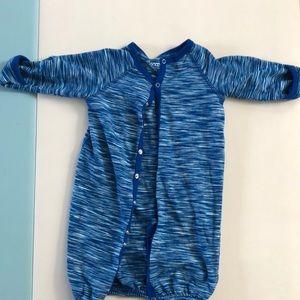 Coccoli button up boy nightgown